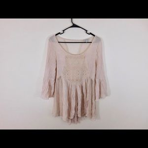 Tops - Sheer flowy shirt